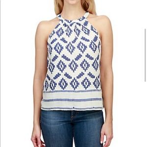 Lucky brand diamond halter top